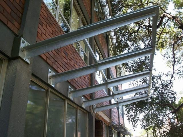 Steel Awning 1