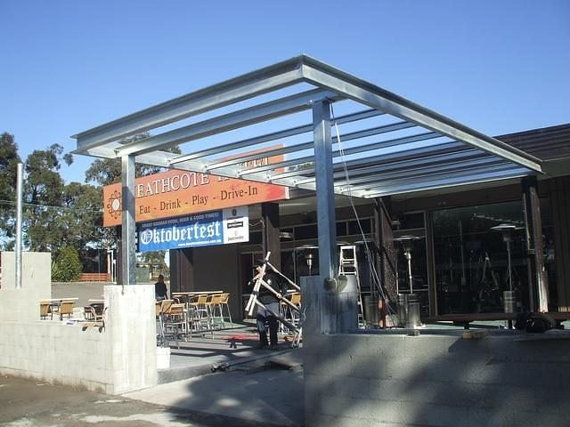 Steel Awning 11