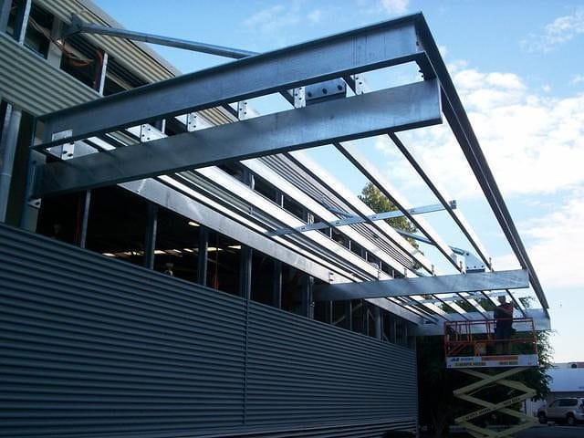 Steel Awning 6