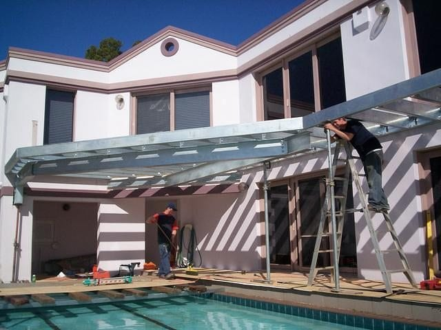 Steel Awning 7