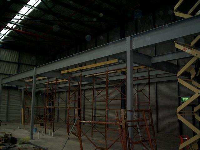 Steel Mezzanine 2