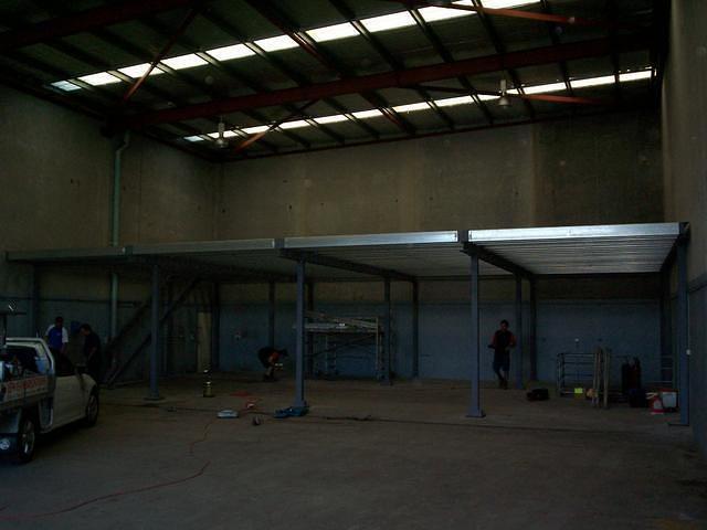 Steel Mezzanine 4
