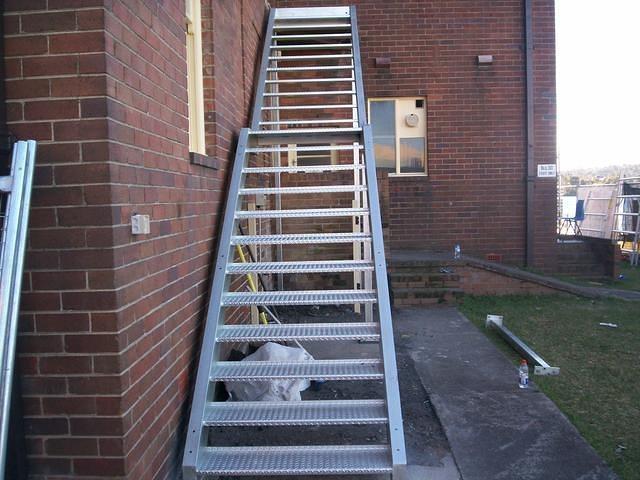 Steel Stairs 10