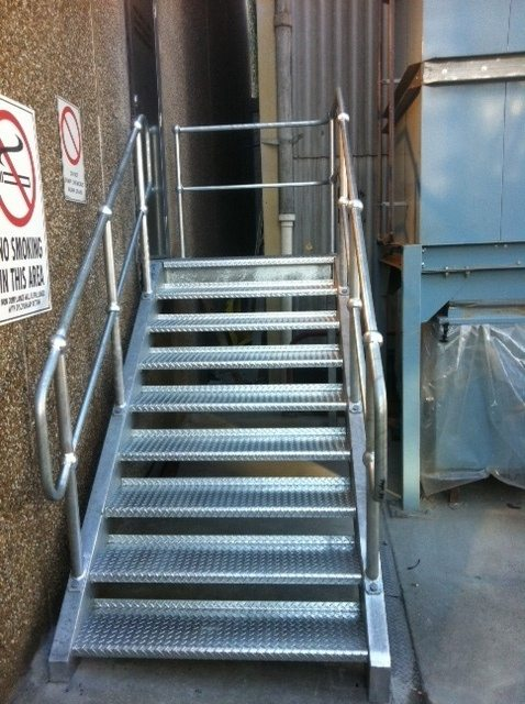 Steel Stairs 11