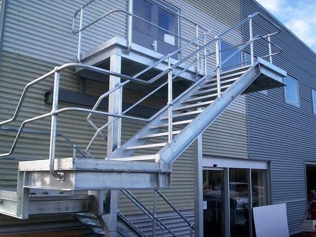 Steel Stairs 13