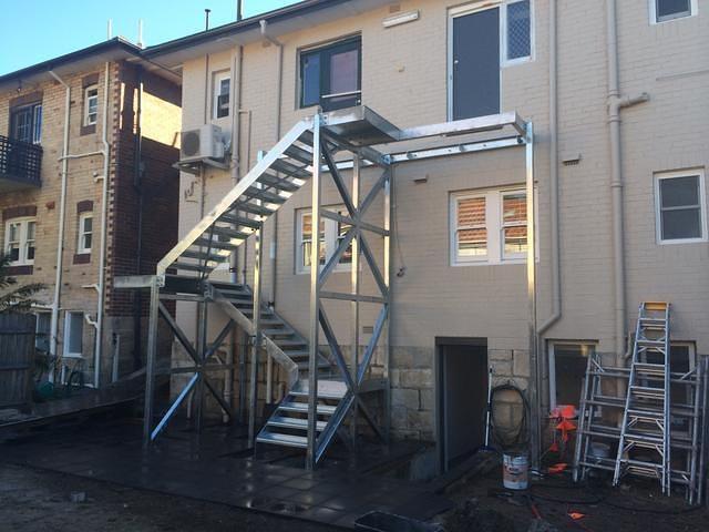 Steel Stairs 3