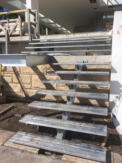 Steel Stairs 6