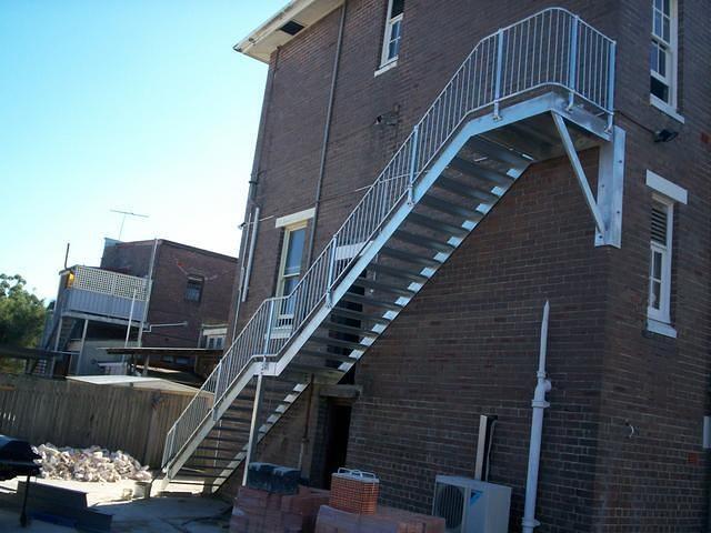 Steel Stairs 7