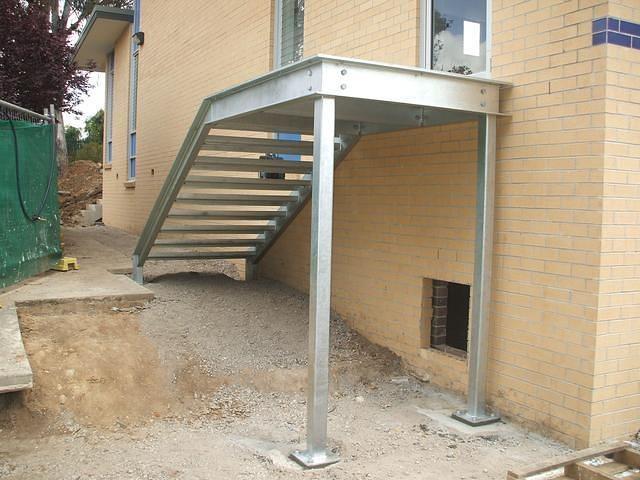 Steel Stairs 9