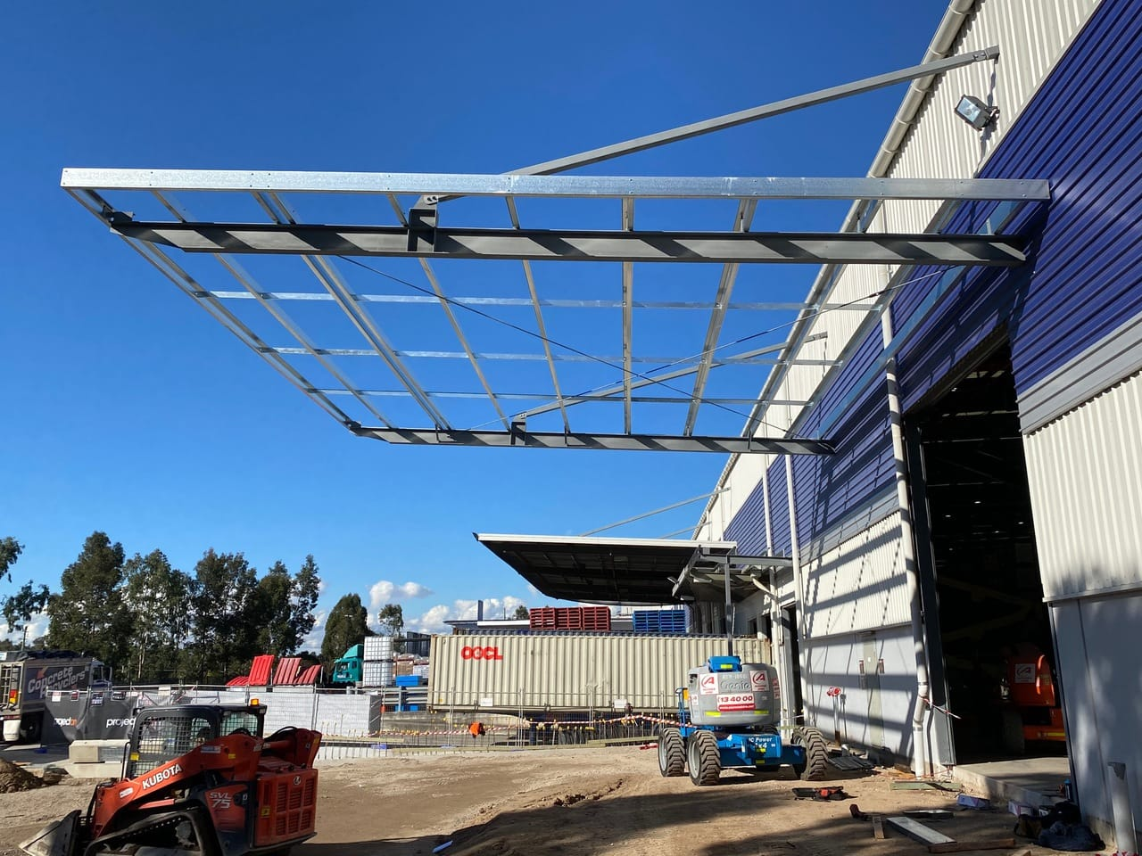 Steel Awning 15