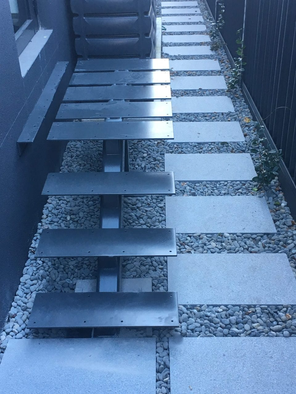 Steel External Stairs 5