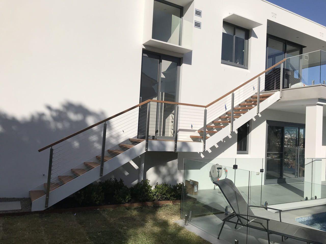 Steel External Stairs 3