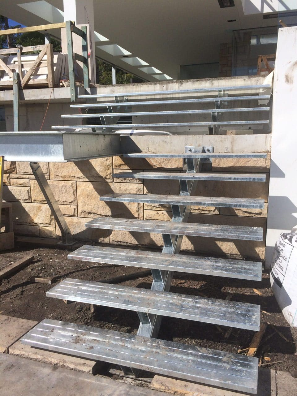 Steel External Stairs 2