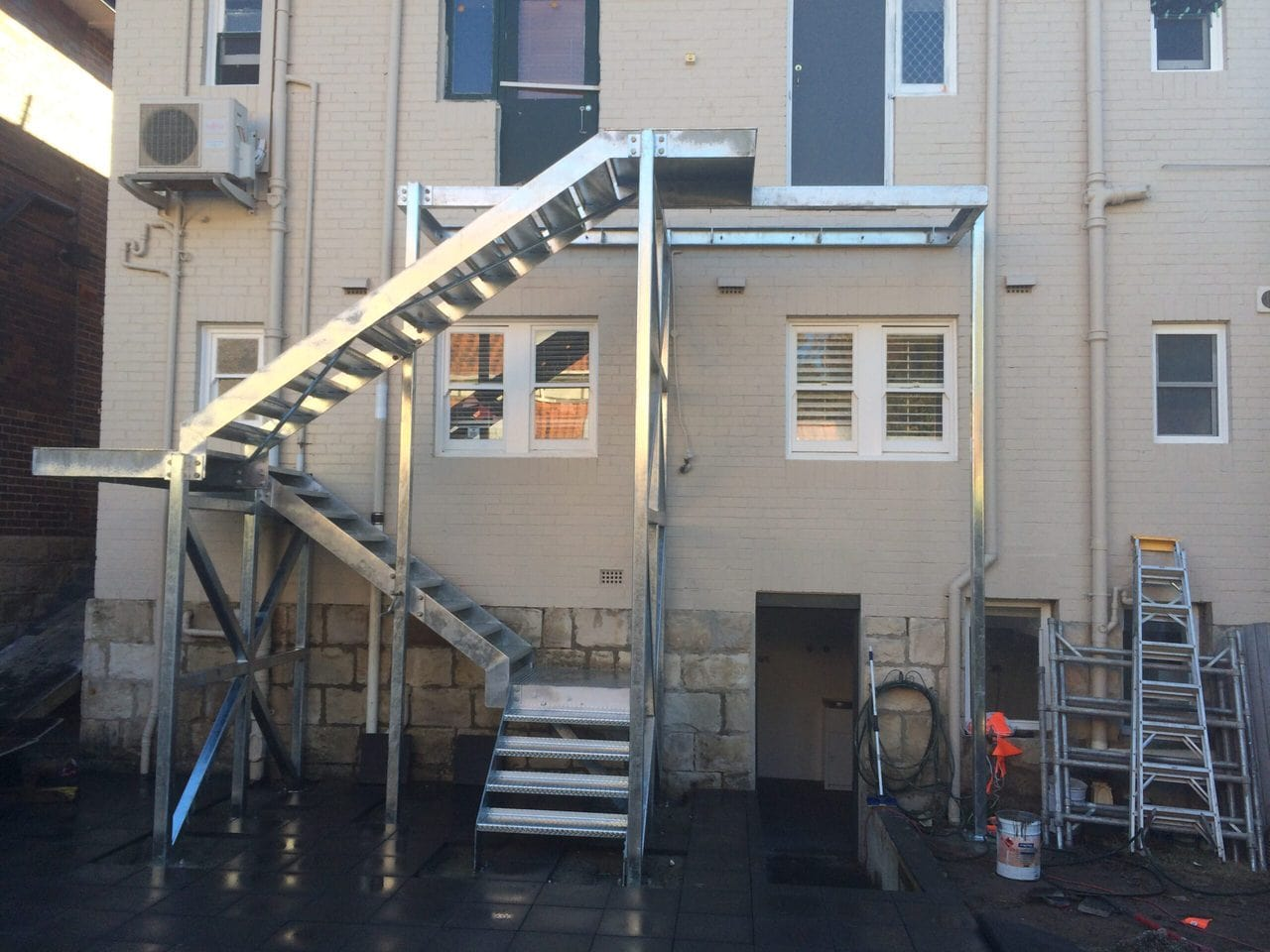 Steel External Stairs 1